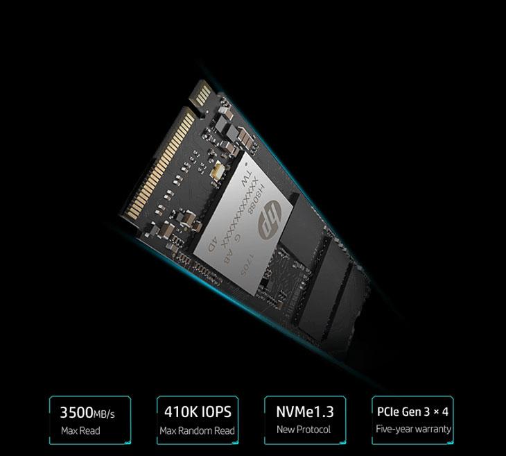 Resultado de imagen de SSD – HP EX900 M.2 – 256Gb PCIe 3.0 x 4 NVMe
