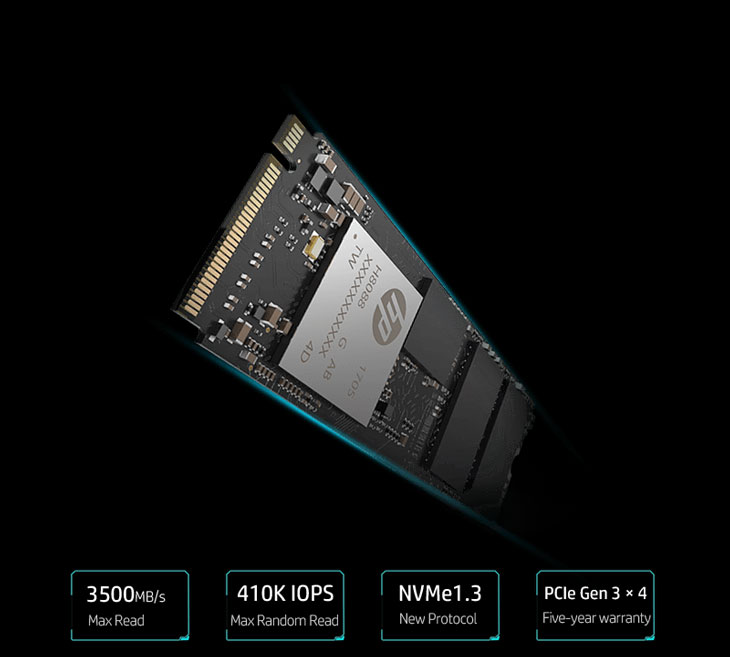 Review SSD HP EX950 M.2 NVMe PCIe Gen3 x4 2TB | Uruguay OC